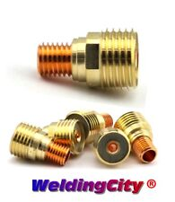 "WeldingCity® 5-pk Gas Lens Collet Body 45V44 3/32"" for Tig Welding Torch 9/20/25"