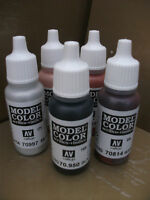 4 X VALLEJO MODEL COLOR ACRYLIC PAINTS CHOOSE ANY 4 X 17ml BOTTLES