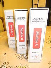 ALGEBRA: A COMPLETE COURSE, 2ND ED., MODULES A, B & C,  GRADE NINE