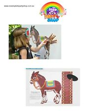 VINTAGE STYLE Pin The Tail On The Donkey/Kids Party Games/Party Supplies!!