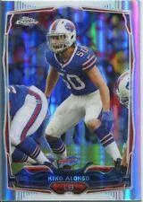 Topps Chrome Football 2014 Refractor Card #65 Kiko Alonso - Buffalo Bills