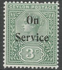 Mint Hinged Victoria (1840-1901) Ceylon Stamps