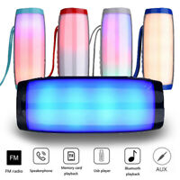 TG157 LED Stereo Super Bass Wireless Bluetooth Speaker Outdoor Waterproof Player