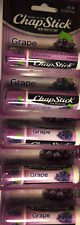 Lot of 5 Hard-to-Find GRAPE Chapstick Brand New!!