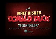 Donald Duck WINDOW CLEANERS 1940 I.B. Technicolor Beautiful 16mm Film  Print!