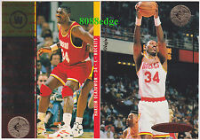 (2) 1994-95 SP CHAMPIONSHIP: HAKEEM OLAJUWON #67/10 HOUSTON ROCKETS MVP CARD LOT
