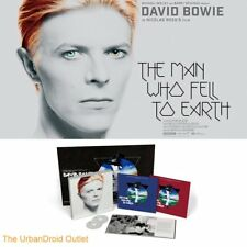 DAVID BOWIE The Man Who Fell To Earth Vinyl Box Set 2-LP + 2-CD + Bonus