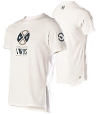 VIRUS Men's PREPARED Premium Custom White T-shirt 3XL (PC4),Crossfit,Gym,BJJ,MMA