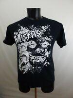 Misfits Black Medium Vintage Look Amplified T Shirt Gildan M Tour