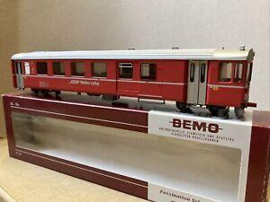 Bemo 3287 133 RhB Driving Trailer Steuerwagen BDt 1723