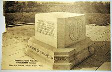 Postcard c. 1920's - Canadian Forces Memorial - Courcelette - Somme - France