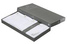 Luxxio Pure White Soft Cotton Handkerchief for Men Pack of 12 pcs