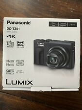 Panasonic LUMIX DC-TZ91 / DC-ZS70 20.3MP Digitalkamera - Schwarz  Neu