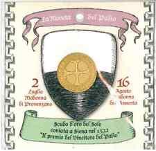 PALIO DI SIENA - Moneta - Scudo d'oro del sole - Riproduzione - ITALIANO