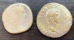 ROME - LOT DE 2 DUPONDIUS À IDENTIFIER (1)