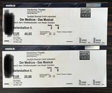 """2 Tickets Musical München """"DER MEDICUS""""     11. November 2018"""