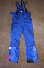 Vtg 80s 90s NEVICA Premier Neige SKI PANTS Snow bib suit Neon retro Mens 38