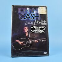 Johnny Cash - Live At Montreux 1994 DVD - BRAND NEW SEALED - Guaranteed