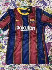 Maglia Calcio Barcellona 2020/2021 Taglia L Home Camiseta Shirt