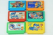 Rockman 1 2 3 4 5 6 set Megaman NES CAPCOM Nintendo Famicom From Japan
