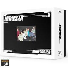 MONSTA X 1ST DVD [ MONTORIES ] 3DVD+PHOTO BOOK+PHOTO CARD+L HOLDER