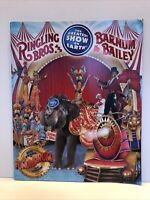 Ringling Brothers Barnum Bailey Circus 2009 Show Collectible Brochure Program