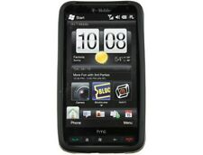 Wrap On Silicone Phone Cover Black For T-Mobile HTC HD2