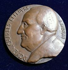 Médaille Bronze DOYEN CHARLES LEFEBVRE par J.ANDRAU