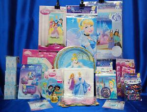 Cinderella Party # 25 Cinderella Tablecloth PLates Napkins Candle Invite Favors