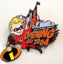 Disney Pin 33915 WDW Incredibles Opening Day Magic Kingdom Park Dash LE 3000