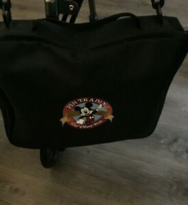 Accessory Pin Trading Bag Large DisneyWorld logo Mickey Mouse