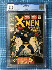 X-MEN #39 CGC 2.5 NEW COSTUMES ORIGIN CYCLOPS