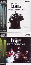 BEATLES UK EP COLLECTION VOL. 1 and 2 CD SET   MINI LP OBI (GREEN AND BLUE OBI)
