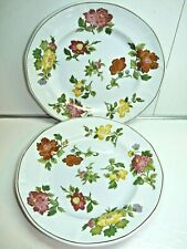 Wedgwood KIMONO Pattern PAIR of Dinner Plates 10 1/4""