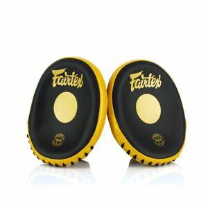 FAIRTEX SPEED & ACCURACY FOCUS MITTS FMV15 BOXING MMA MUAY THAI EXPRESS SHIP