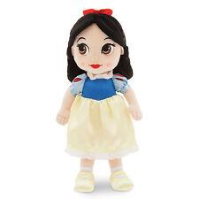 "Disney Store Animators 13"" Princess Snow White & 7 Dwarfs Plush Toddler Doll"