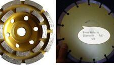 "7 inch Diamond Grinding Cup Wheel 3 X 6"" Cutting Blade Concrete stone masonry"