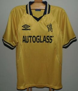 1999/2000 Chelsea Third Kit XL Extra Large 100% Authentic Vintage Premier League