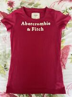 Abercrombie & Fitch Womens Short Sleeved Tshirt - Pink - Size Medium