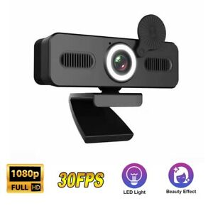 Full HD 1080P Webcam USB AutoFocus Web Camera With Microphone For PC Laptop