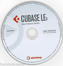 Cubase Le 4  Desktop Recording Studio - Music Production Software on DVD
