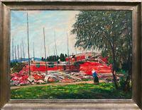 Kurhalle Tölz Neubau 1929 Ölgemälde Richard Pietzsch Ausstellungen publiziert