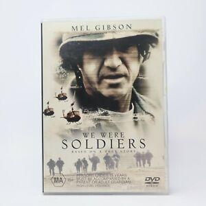 We were Soldiers Mel Gibson 2002 DVD R4 Movie Good Condition
