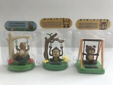 Solar Power Energy Swinging Monkey And 2 Bears Car Dashboard Dance Toys Gifts