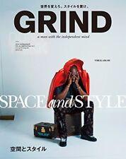 GRIND magazine  July 2018 / Men's Street Fashion magazine / from Japan