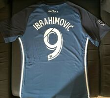 Maillot los angeles galaxy num 9 ibrahimovic jersey soccer 2019 2020 usa size M