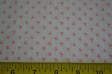 By 1/2 Yd, Vintage Pink Calico on Cream Quilting Cotton, Kessler/Concord, C2618