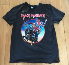 AMPLIFIED IRON MAIDEN TROOPER X LARGE SLIM FIT T SHIRT BNWT