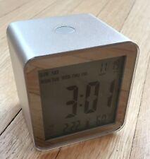 NEW Boss Hugo Lexon LR103 Alarm Clock Cube with Backlight and Temperature Sensor