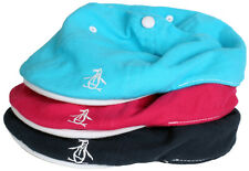 Original Penguin Munsingwear Hat Fitted Golf Cap - Teal Blue Fuchsia Pink Navy